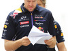 GP BAHRAIN, Sebastian Vettel (GER) Red Bull Racing walks the circuit. 03.04.2014. Formula 1 World Championship, Rd 3, Bahrain Grand Prix, Sakhir, Bahrain, Preparation Day.