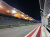 GP BAHRAIN, The pit straight under floodlights at night. 03.04.2014. Formula 1 World Championship, Rd 3, Bahrain Grand Prix, Sakhir, Bahrain, Preparation Day.