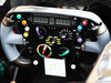 GP BAHRAIN, Sahara Force India F1 VJM07 steering wheel. 03.04.2014. Formula 1 World Championship, Rd 3, Bahrain Grand Prix, Sakhir, Bahrain, Preparation Day.