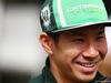 GP BAHRAIN, Kamui Kobayashi (JPN) Caterham. 03.04.2014. Formula 1 World Championship, Rd 3, Bahrain Grand Prix, Sakhir, Bahrain, Preparation Day.