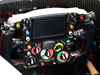 GP BAHRAIN, Sauber C33 steering wheel. 03.04.2014. Formula 1 World Championship, Rd 3, Bahrain Grand Prix, Sakhir, Bahrain, Preparation Day.