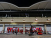 GP BAHRAIN, The Ferrari pits under floodlights at night. 03.04.2014. Formula 1 World Championship, Rd 3, Bahrain Grand Prix, Sakhir, Bahrain, Preparation Day.