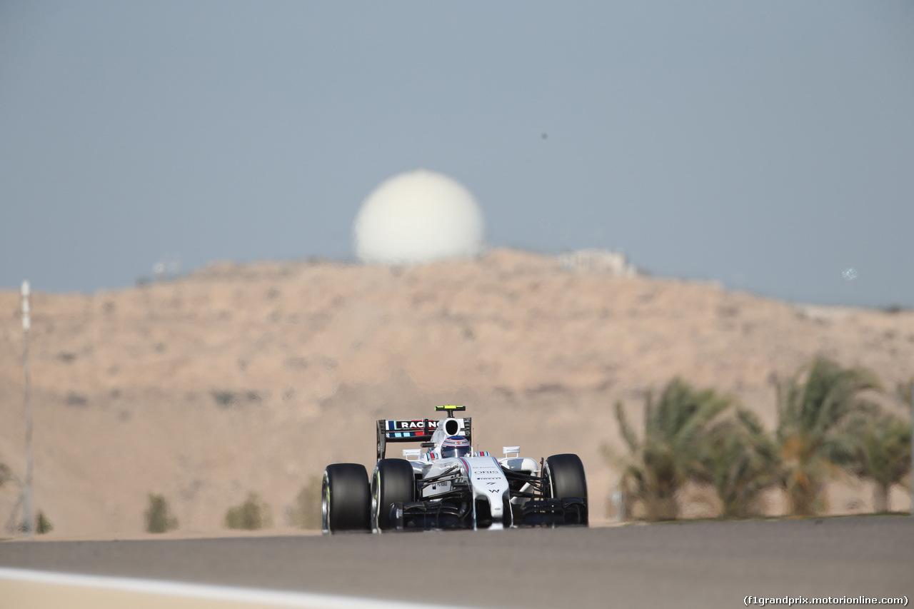 GP BAHRAIN, 05.04.2014- Free practice 3, Valtteri Bottas (FIN) Williams F1 Team FW36