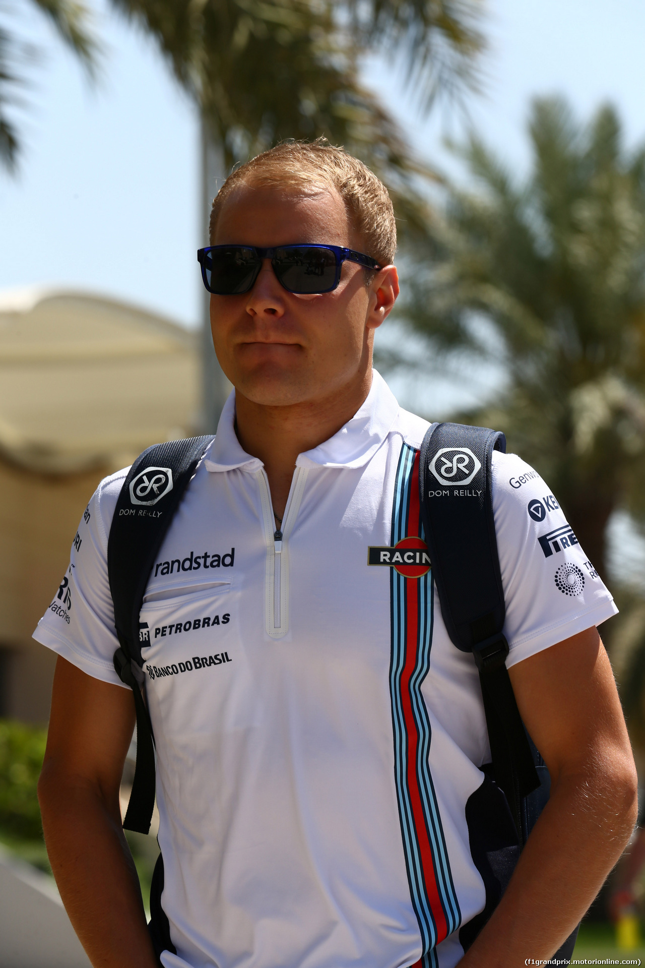 GP BAHRAIN, 05.04.2014- Valtteri Bottas (FIN) Williams F1 Team FW36
