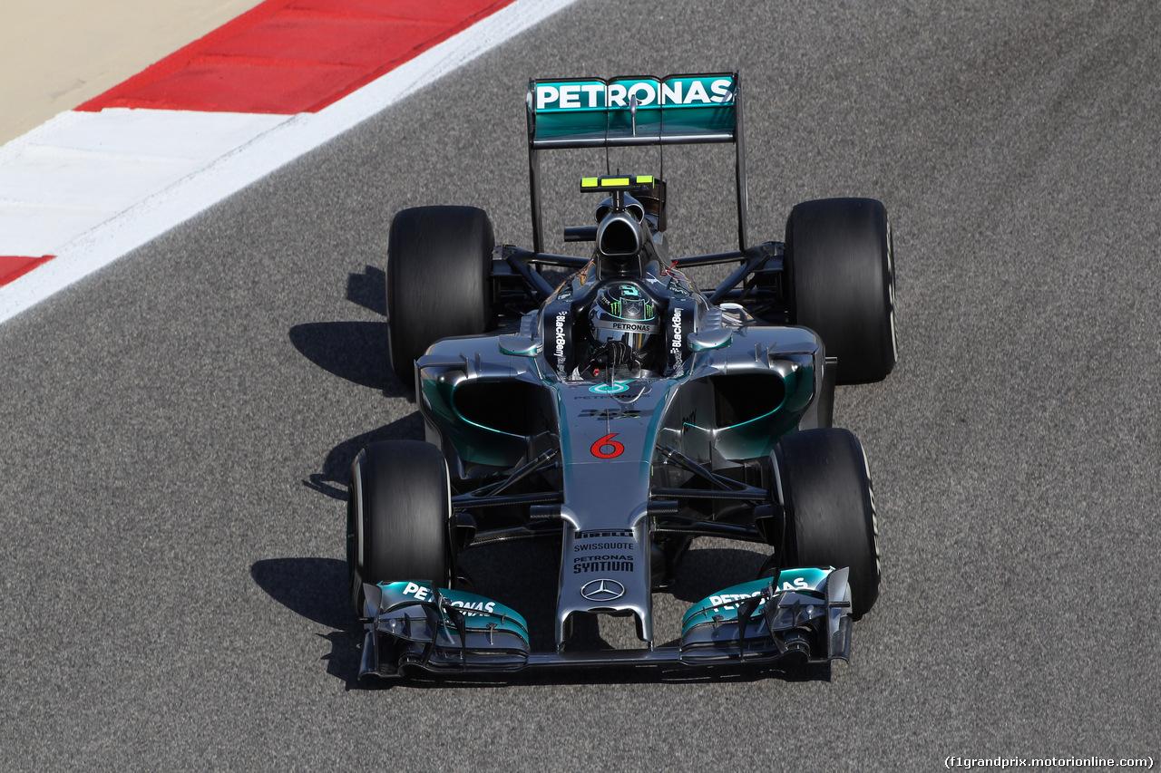 GP BAHRAIN, 05.04.2014- Free practice 3, Nico Rosberg (GER) Mercedes AMG F1 W05