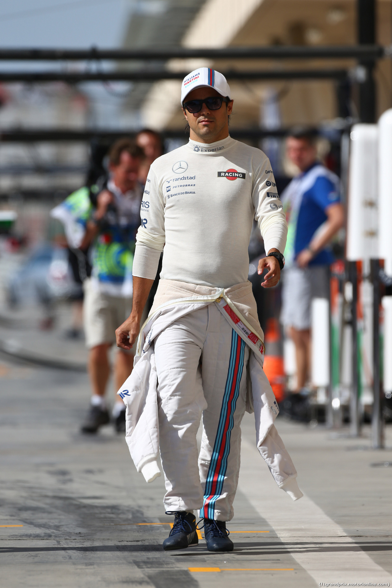 GP BAHRAIN, 05.04.2014- Free practice 3, Felipe Massa (BRA) Williams F1 Team FW36