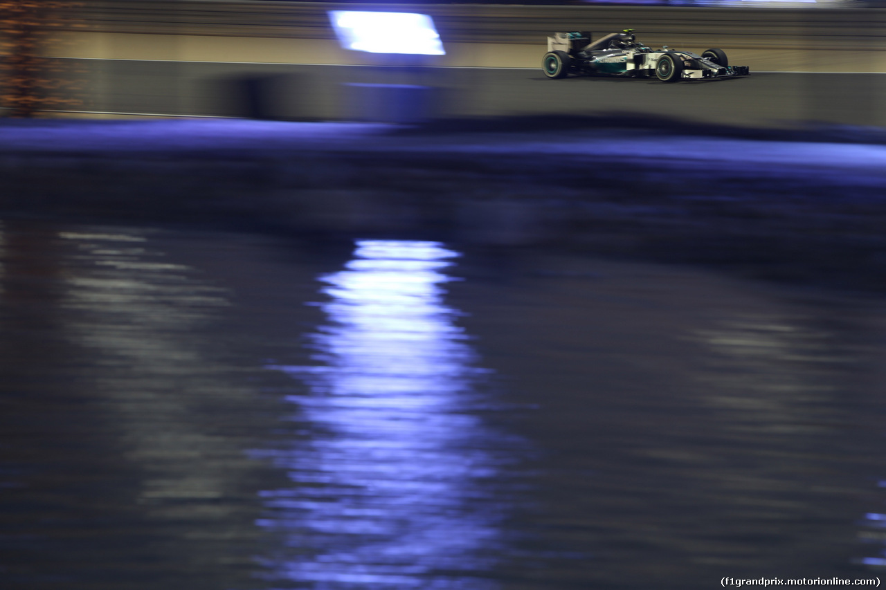 GP BAHRAIN, 05.03.2014- Qualifiche, Nico Rosberg (GER) Mercedes AMG F1 W05