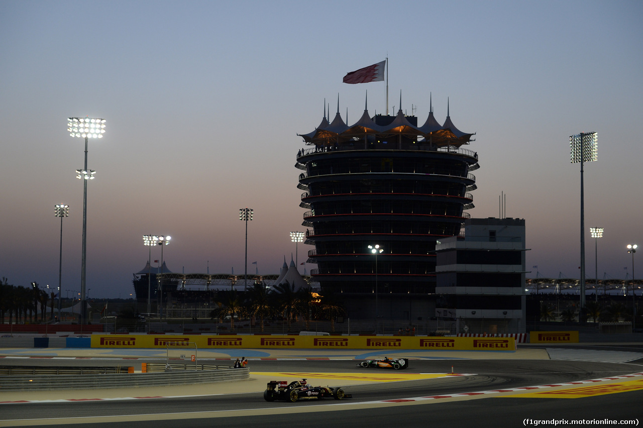 GP BAHRAIN, 05.03.2014- Qualifiche, Romain Grosjean (FRA) Lotus F1 Team E22