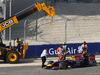 GP BAHRAIN, 05.04.2014- Free practice 3, Sebastian Vettel (GER) Infiniti Red Bull Racing RB10 in the sand