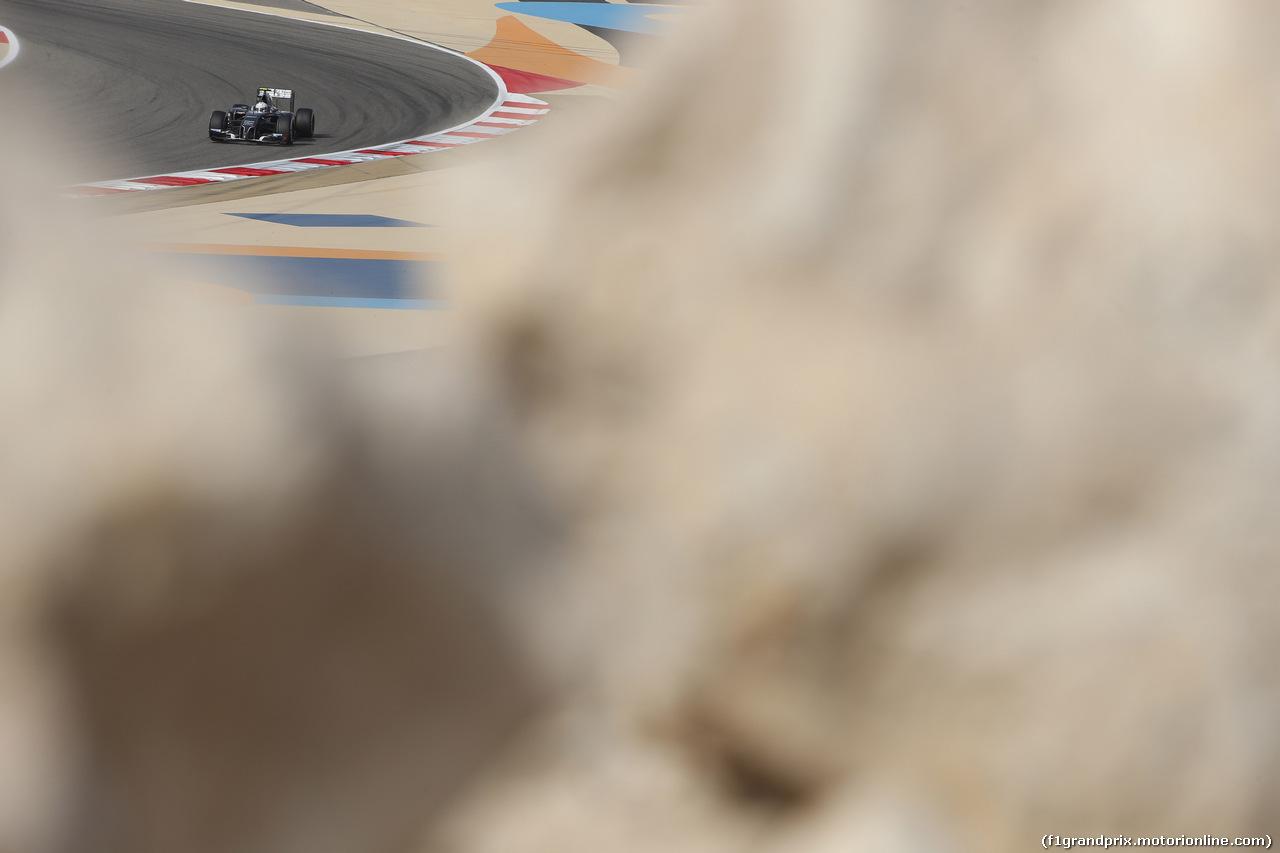 GP BAHRAIN, 04.04.2014- Prove Libere 1, Giedo Vand der Garde (NED) Sauber F1 Team C33