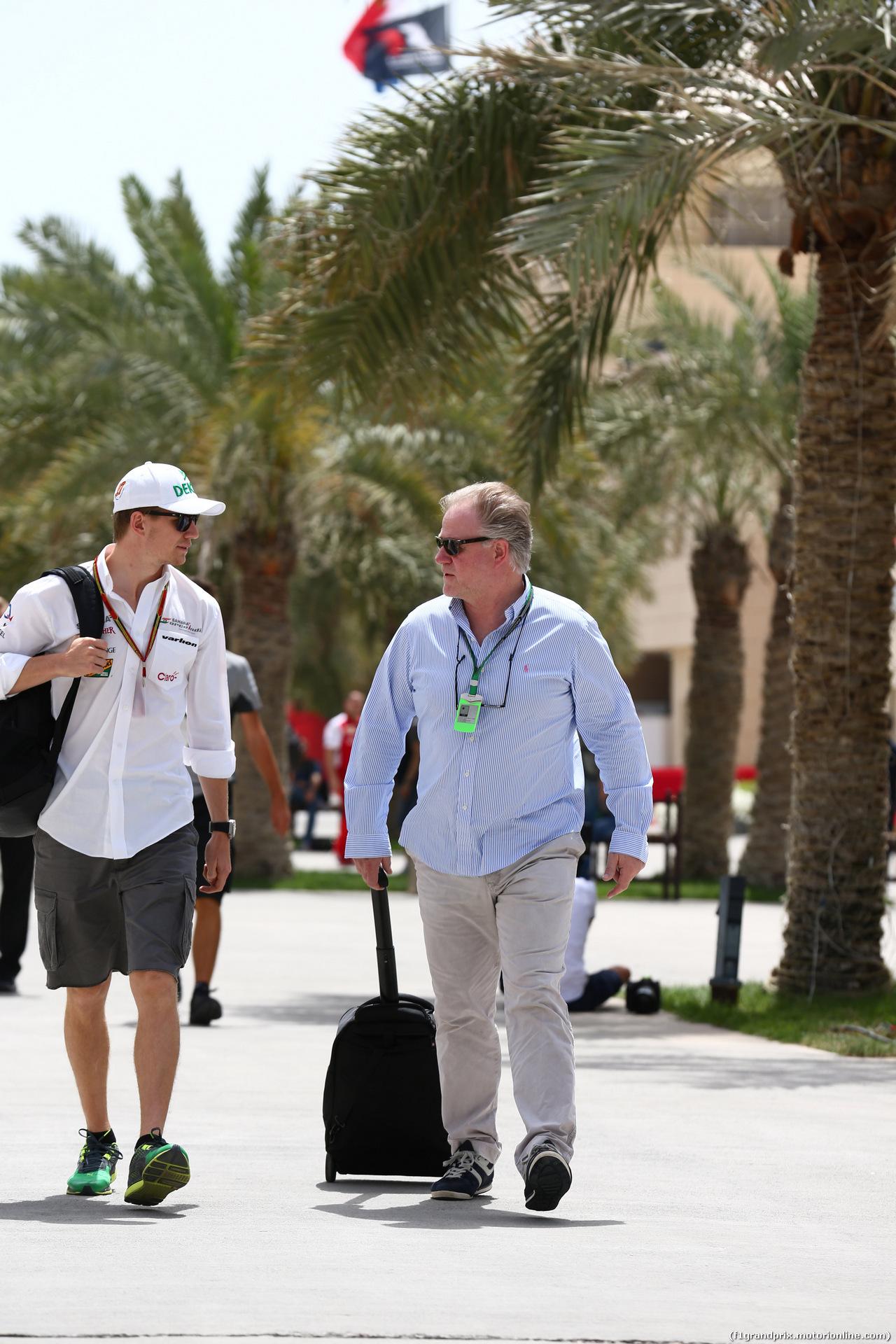 GP BAHRAIN, 04.04.2014- Nico Hulkenberg (GER) Sahara Force India VJM07