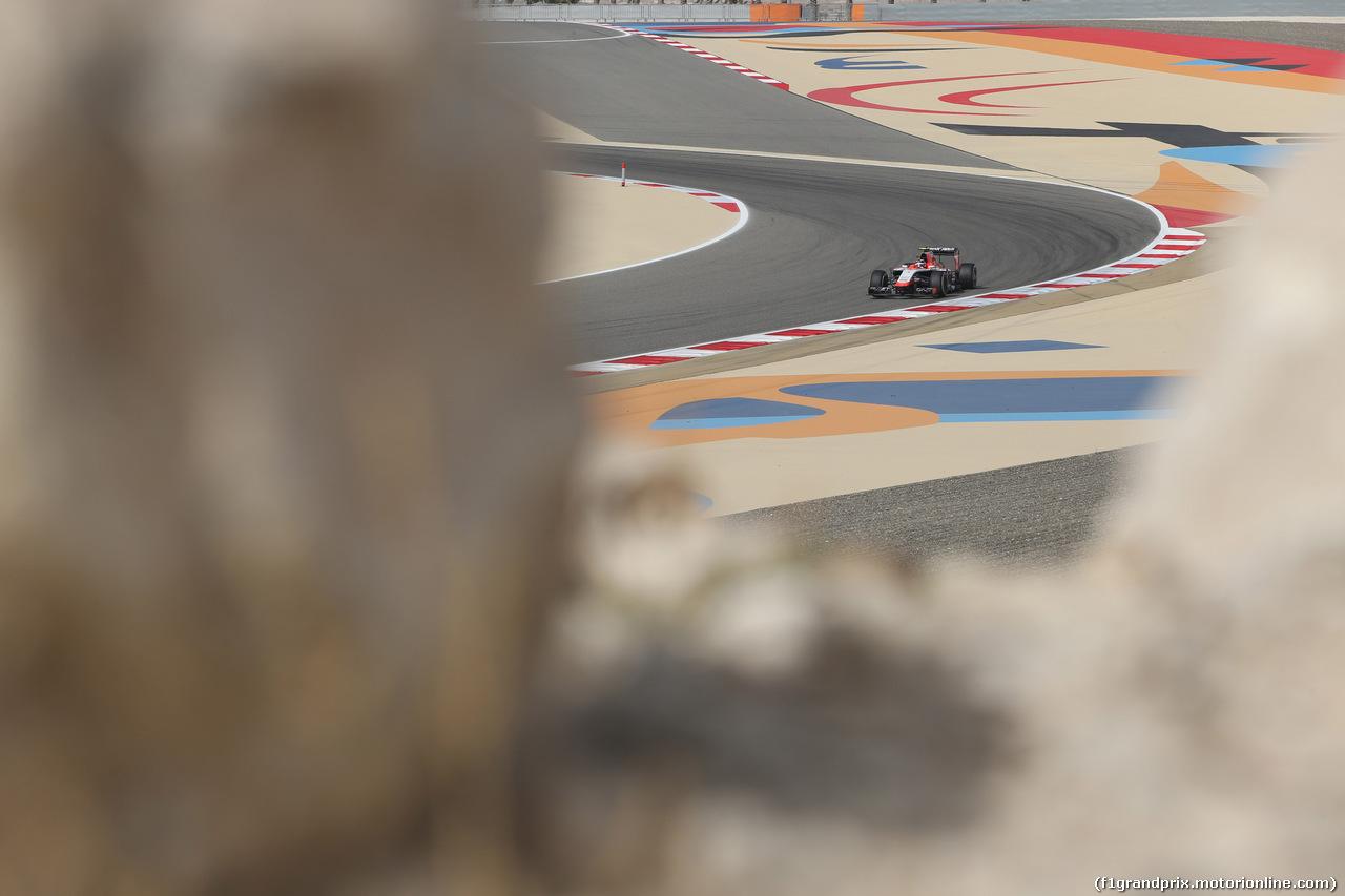 GP BAHRAIN, 04.04.2014- Prove Libere 1, Max Chilton (GBR), Marussia F1 Team MR03