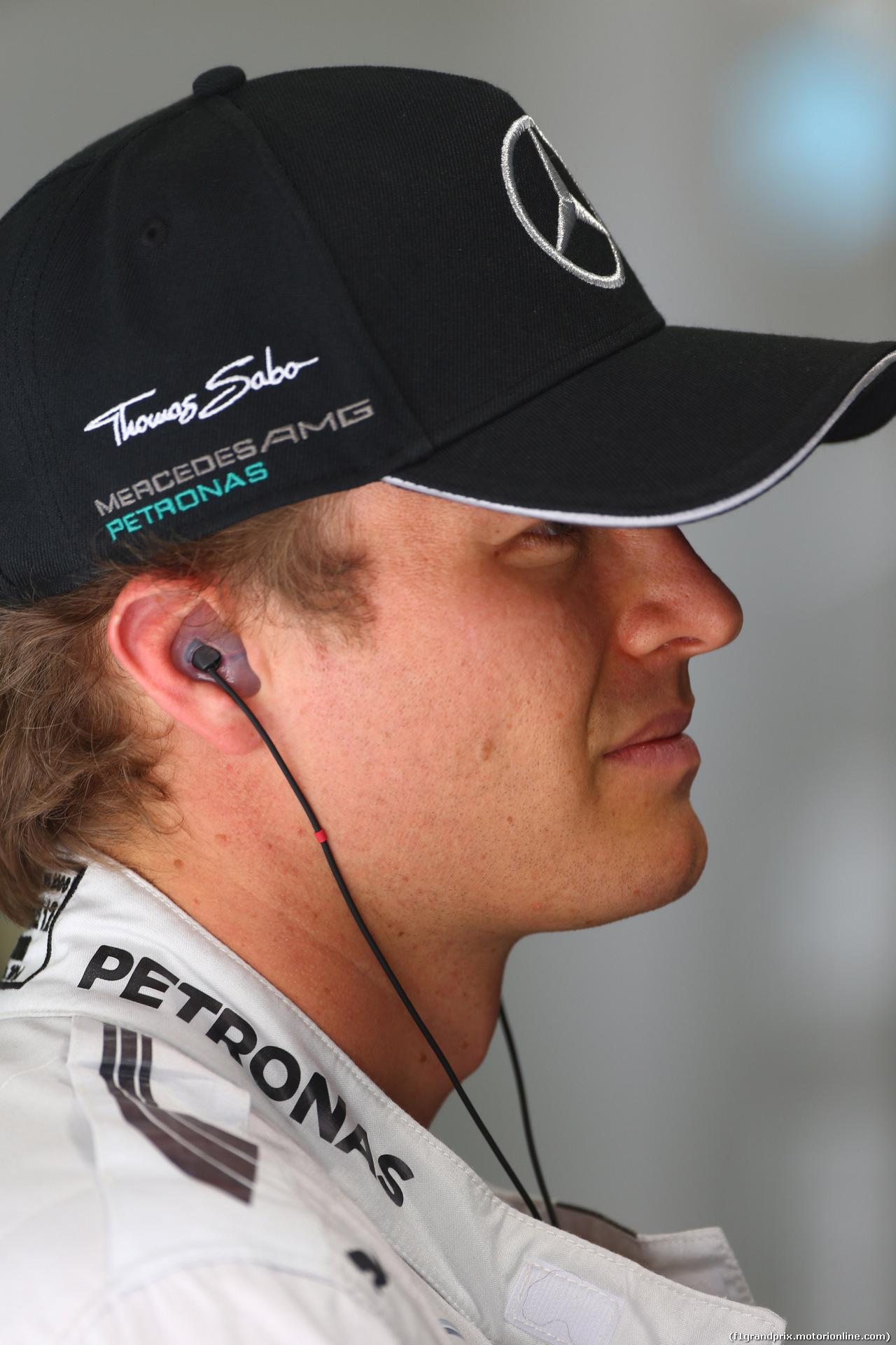 GP BAHRAIN, 04.04.2014- Prove Libere 1, Nico Rosberg (GER) Mercedes AMG F1 W05