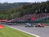 GP BELGIO, 24.08.2014-Gara, Start of the race, Nico Rosberg (GER) Mercedes AMG F1 W05 e Sebastian Vettel (GER) Red Bull Racing RB10