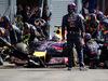 GP BELGIO, 24.08.2014- Gara, Pit stop, Daniel Ricciardo (AUS) Red Bull Racing RB10