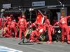 GP BELGIO, 24.08.2014- Gara, Pit stop, Fernando Alonso (ESP) Ferrari F14-T