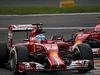 GP BELGIO, 23.08.2014- Free Practice 3, Fernando Alonso (ESP) Ferrari F14-T e Kimi Raikkonen (FIN) Ferrari F14-T