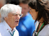 GP BRASILE, 09.11.2014 - Bernie Ecclestone (GBR), President e CEO of FOM e the wife of Emerson Fittipaldi (BRA), Ex F1 Champion