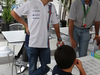 GP BRASILE, 09.11.2014 - Felipe Massa (BRA) Williams F1 Team FW36 e his son Felipinho