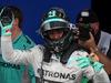 GP BRASILE, 09.11.2014 - Gara, Nico Rosberg (GER) Mercedes AMG F1 W05 vincitore