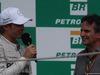 GP BRASILE, 09.11.2014 - Gara, Nico Rosberg (GER) Mercedes AMG F1 W05 vincitore e Nelson Piquet (BRA)