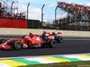 GP BRASILE, 09.11.2014 - Gara, Kimi Raikkonen (FIN) Ferrari F14-T e Fernando Alonso (ESP) Ferrari F14-T