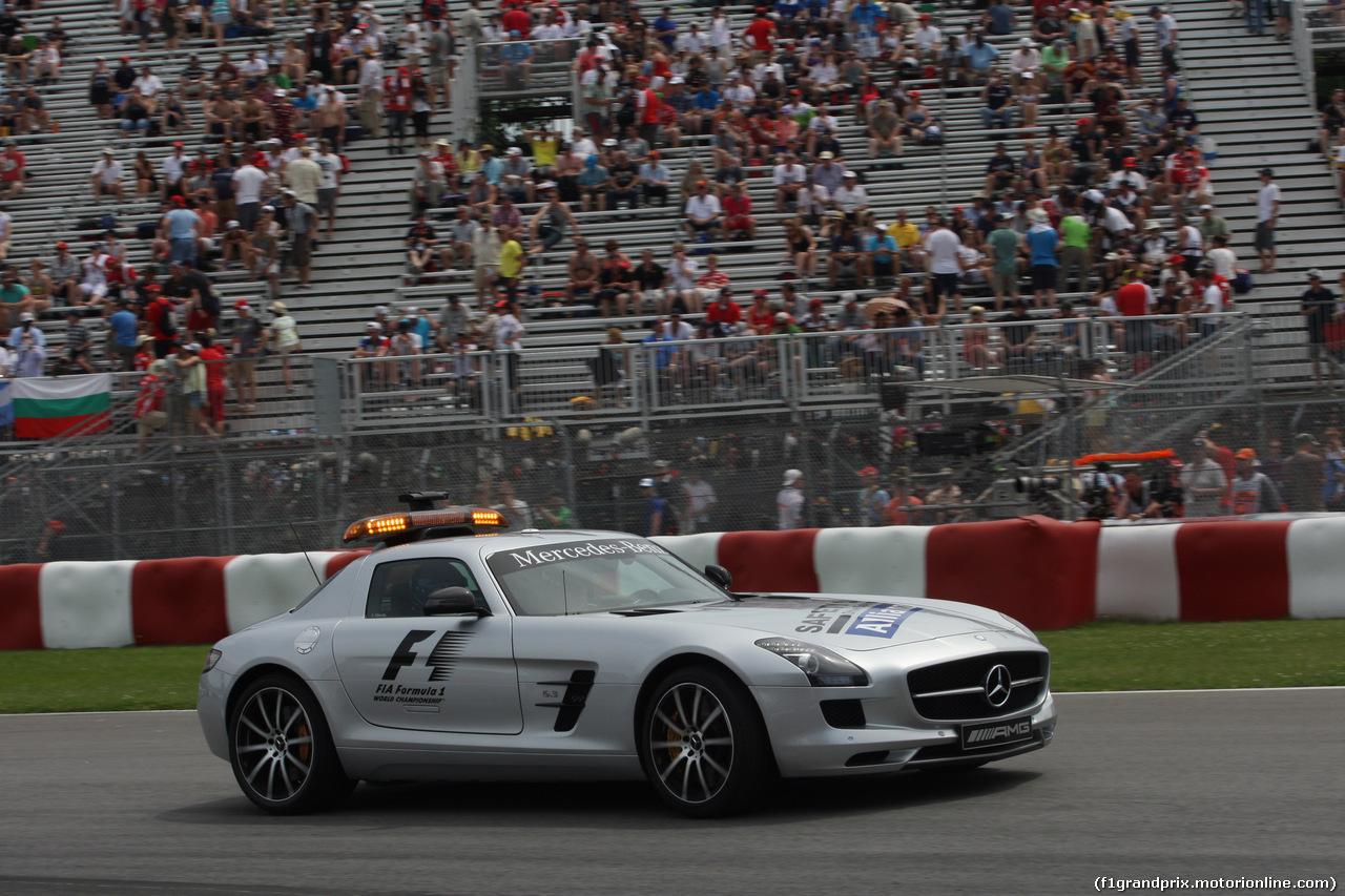 GP CANADA, 08.06.2014- Safety car