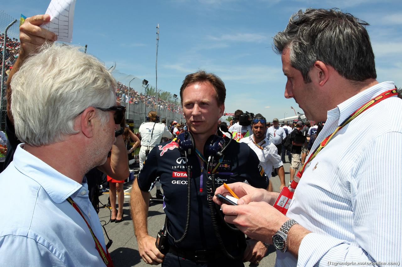 GP CANADA, 08.06.2014- Gara, Christian Horner (GBR), Red Bull Racing, Sporting Director