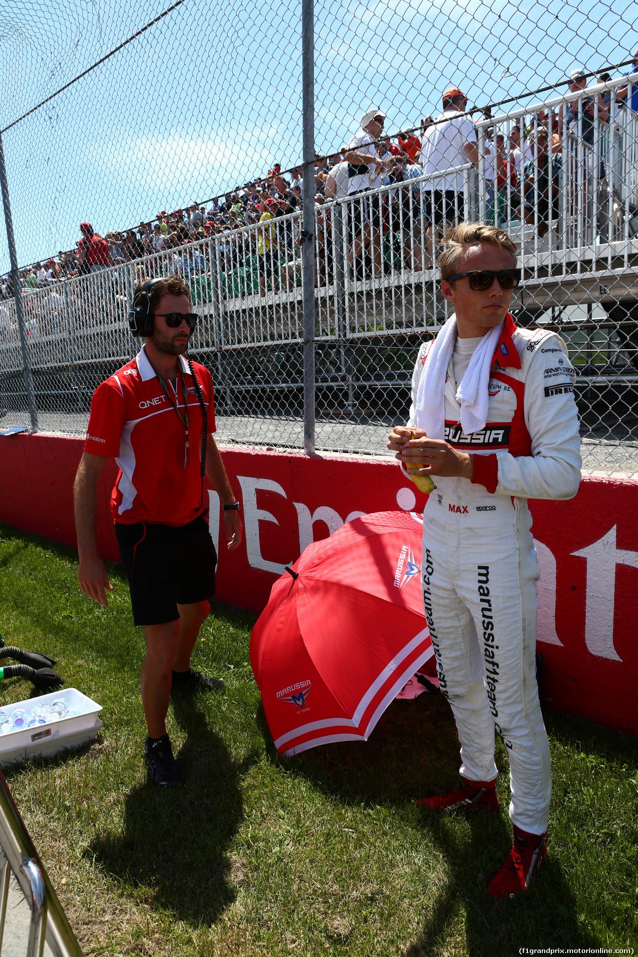 GP CANADA, 08.06.2014- Gara, Max Chilton (GBR), Marussia F1 Team MR03