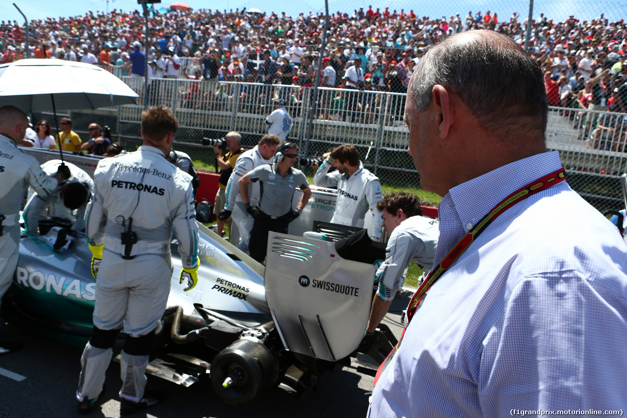 GP CANADA, 08.06.2014- Gara, Ron Dennis (GBR) McLaren Executive Chairman