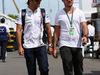 GP CANADA, 08.06.2014- Felipe Massa (BRA) Williams F1 Team FW36 e his brother Dudu Massa