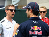 GP CANADA, 08.06.2014- Jenson Button (GBR) McLaren Mercedes MP4-29, Daniel Ricciardo (AUS) Red Bull Racing RB10 e Max Chilton (GBR), Marussia F1 Team MR03