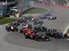 GP CANADA, 08.06.2014- Gara, Jean-Eric Vergne (FRA) Scuderia Toro Rosso STR9 e Jenson Button (GBR) McLaren Mercedes MP4-29