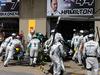 GP CANADA, 08.06.2014- Gara, Lewis Hamilton (GBR) Mercedes AMG F1 W05 retires from the race