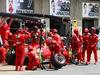 GP CANADA, 08.06.2014- Gara, Pit stop, Kimi Raikkonen (FIN) Ferrari F14-T