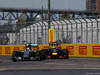 GP CANADA, 08.06.2014- Gara, Pit stop, Lewis Hamilton (GBR) Mercedes AMG F1 W05 e Sebastian Vettel (GER) Red Bull Racing RB10