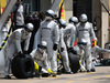 GP CANADA, 08.06.2014- Gara, Pit stop, Mechanics Mercedes