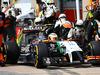 GP CANADA, 08.06.2014- Gara, Pit stop, Sergio Perez (MEX) Sahara Force India F1 VJM07