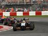 GP CANADA, 08.06.2014- Gara, Sergio Perez (MEX) Sahara Force India F1 VJM07 davanti a Daniel Ricciardo (AUS) Red Bull Racing RB10