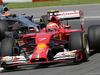GP CANADA, 08.06.2014- Gara, Kimi Raikkonen (FIN) Ferrari F14-T davanti a Jenson Button (GBR) McLaren Mercedes MP4-29