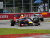 GP CANADA, 08.06.2014- Gara, Daniel Ricciardo (AUS) Red Bull Racing RB10 davanti a Nico Rosberg (GER) Mercedes AMG F1 W05