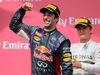GP CANADA, 08.06.2014- Gara, 1st position Daniel Ricciardo (AUS) Red Bull Racing RB10 e secondo Nico Rosberg (GER) Mercedes AMG F1 W05