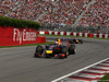 GP CANADA, 08.06.2014- Gara, Daniel Ricciardo (AUS) Red Bull Racing RB10 davanti a Sebastian Vettel (GER) Red Bull Racing RB10