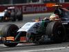 GP CANADA, 08.06.2014- Gara, Sergio Perez (MEX) Sahara Force India F1 VJM07 davanti a Nico Hulkenberg (GER) Sahara Force India F1 VJM07