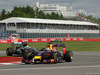 GP CANADA, 06.06.2014- Free Practice 1, Sebastian Vettel (GER) Red Bull Racing RB10 davanti a Lewis Hamilton (GBR) Mercedes AMG F1 W05