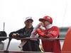 GP CINA, 20.04.2014- Drivers parade, Kimi Raikkonen (FIN) Ferrari F14T