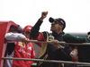 GP CINA, 20.04.2014- Drivers parade, Pastor Maldonado (VEN) Lotus F1 Team, E22