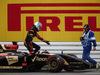 GP GERMANIA, 20.07.2014- Gara, Romain Grosjean (FRA) Lotus F1 Team E22 out of the race for tech failure