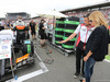 GP GERMANIA, 20.07.2014- Patrick Dempsey (USA) with sua moglie