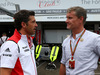 GP GERMANIA, 20.07.2014- Patrick Dempsey (USA) Actor e David Coulthard (GBR)